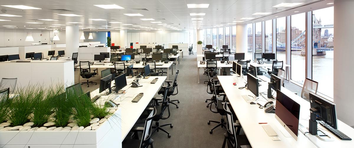 London & Partners Office Desks