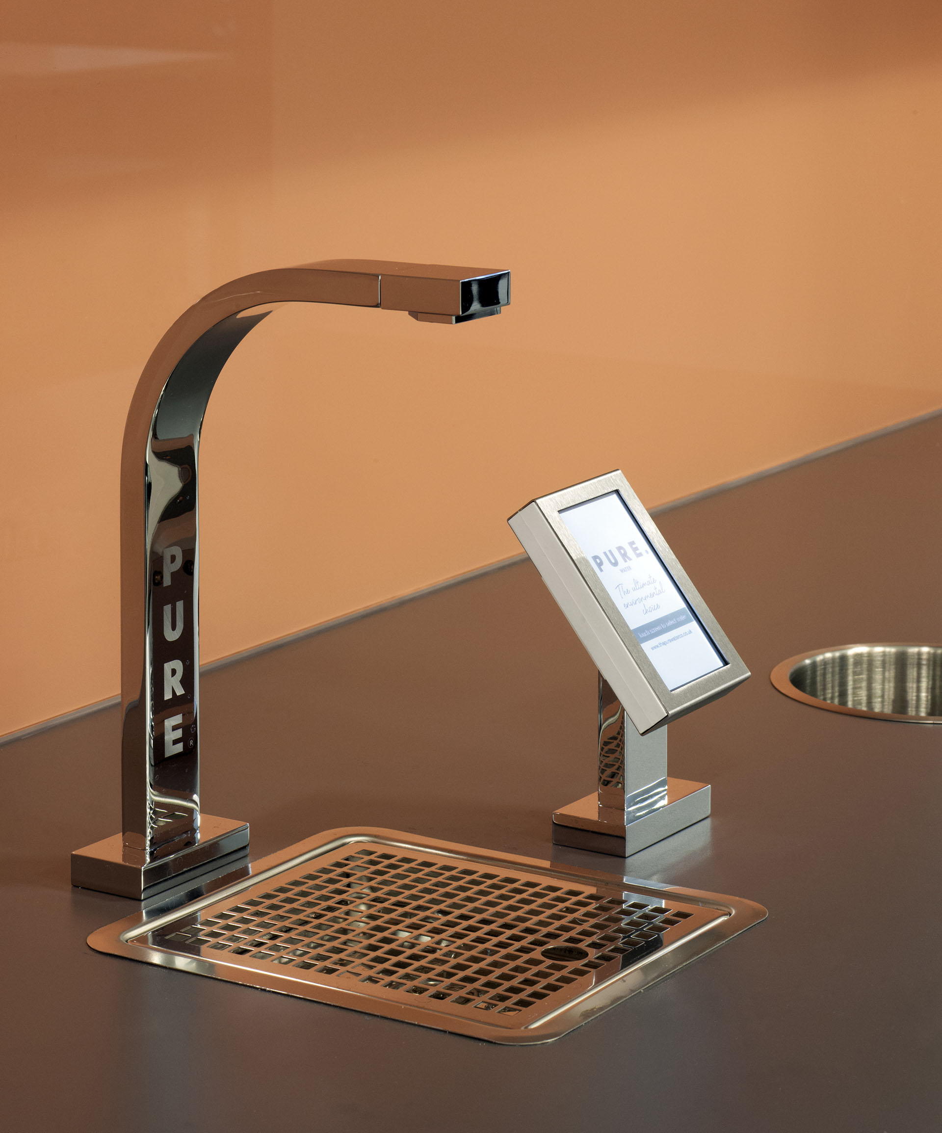 Water tap in office